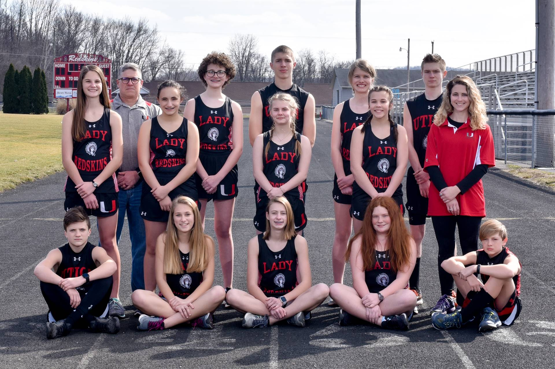 2019 Middle School Track Team