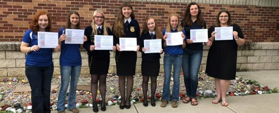 Agricultural Education Student Recognition