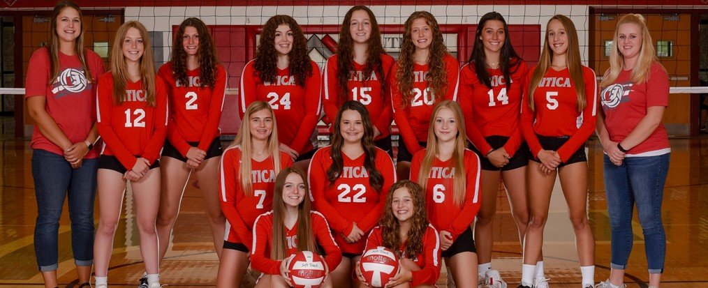 JV Volleyball Team 2021